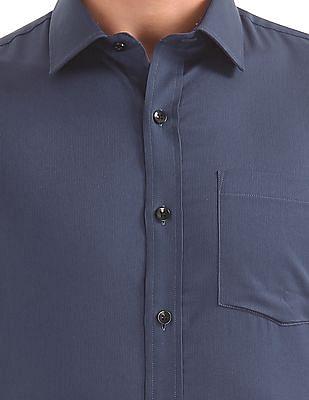 Arrow Slim Fit Textured Weave Shirt