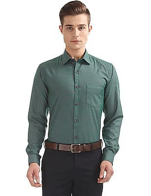 Excalibur Classic Fit Patterned Shirt