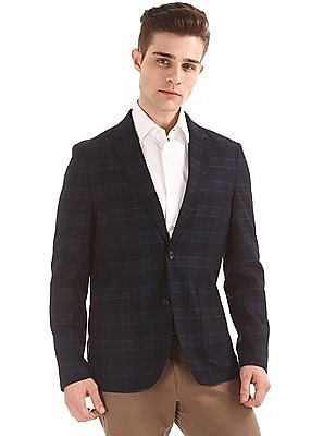 U.S. Polo Assn. Slim Fit Check Blazer
