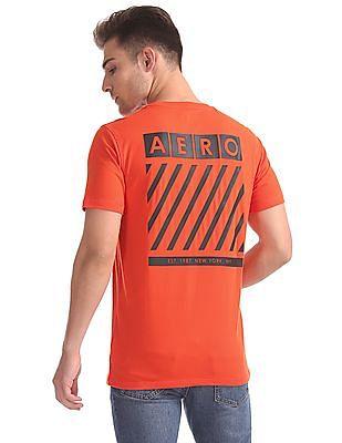 Aeropostale Rear Print Crew Neck T-Shirt