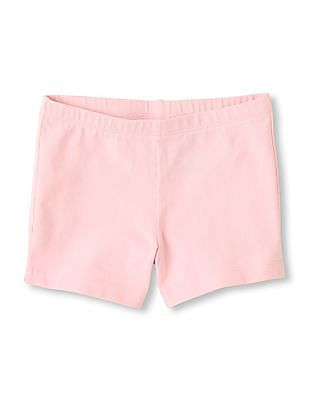 The Children's Place Girls Knit Cartwheel Shorts