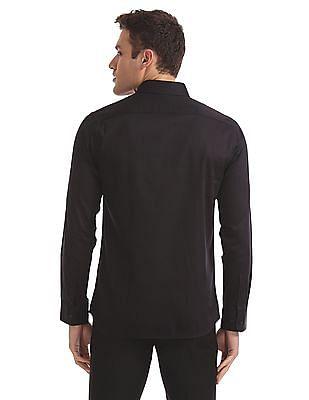 USPA Tailored Slim Fit Full Sleeve Shirt