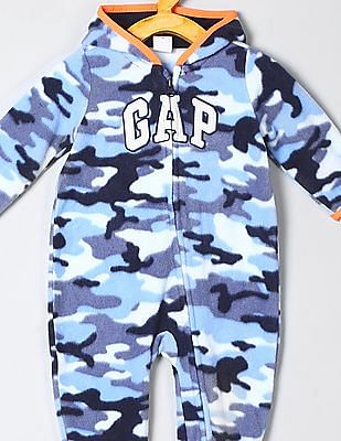 GAP Baby Camo Fleece Jumpsuit