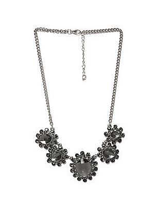 Unlimited Stone Studded Statement Necklace