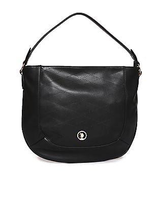 U.S. Polo Assn. Women Perforated Hand Bag