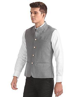 Arrow Slim Fit Nehru Jacket