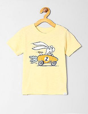 GAP Toddler Boy Short Sleeve Graphic T-Shirt