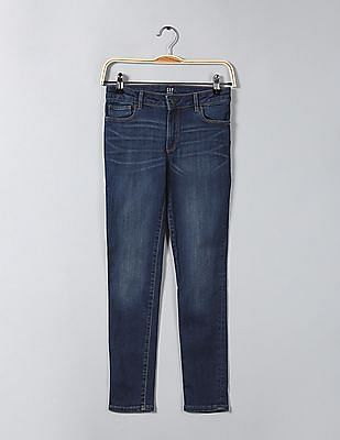 GAP Girls Superdenim Super Skinny Jeans With Fantastiflex