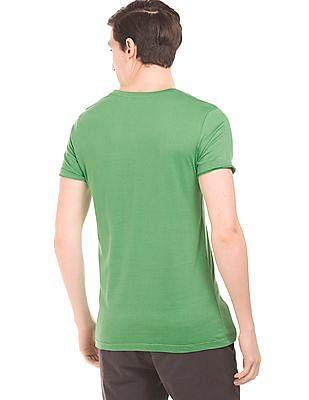 Colt Printed Cotton T-Shirt