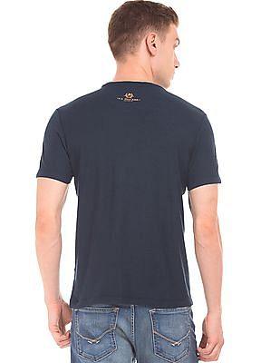 U.S. Polo Assn. Denim Co. Contrast Print Slubbed T-Shirt