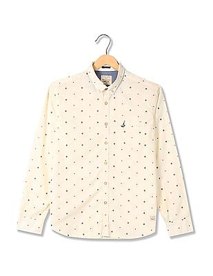 Bayisland Standard Fit Printed Shirt