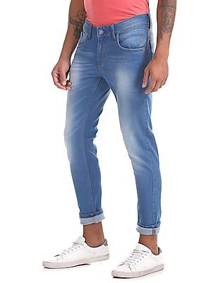 Ruf & Tuf Fang Slim Fit Stone Wash Jeans