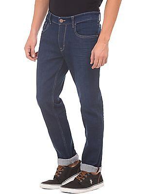 U.S. Polo Assn. Denim Co. Slim Fit Rinse Wash Jeans
