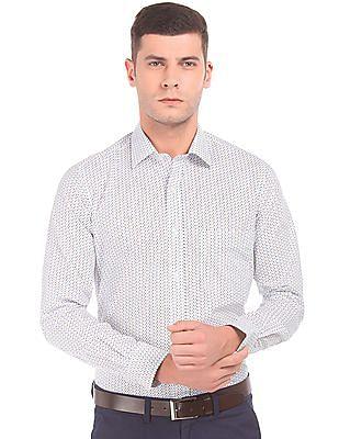 Arrow Printed Regular Fit Shirt