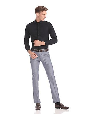 Arrow Newyork Snug Skinny Fit Solid Shirt