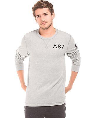 Aeropostale Crew Neck Long Sleeve T-Shirt