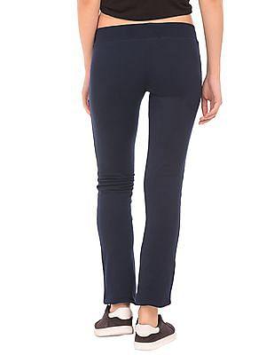 Aeropostale Slim Fit Frayed Hem Track Pants