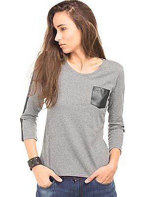 EdHardy Women Printed Embellished T-Shirt