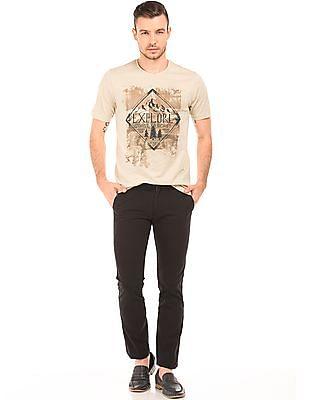 Cherokee Graphic Print Slim Fit T-Shirt