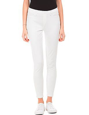 U.S. Polo Assn. Women Skinny Fit Knit Pants