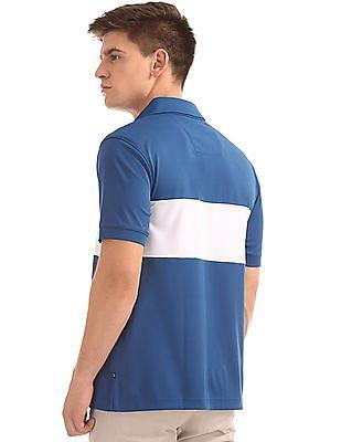 Nautica Short Sleeve Block NavTech Polo