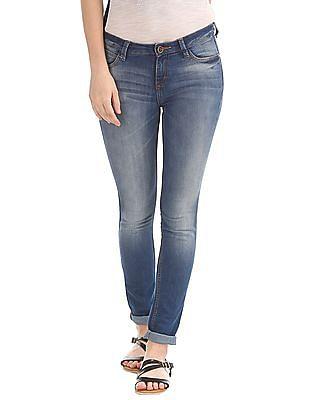 Elle Skinny Fit Stone Wash Jeans
