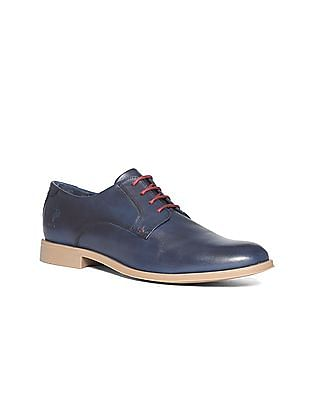 U.S. Polo Assn. Leather Derby Shoes