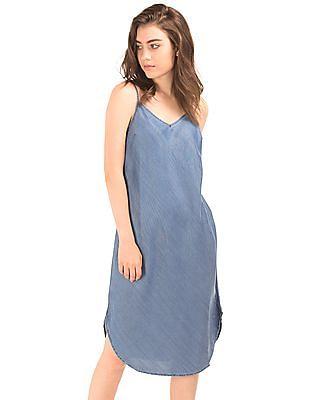 4beb3db2001 Buy Women 1969 Tencel Denim Cami Dress online at NNNOW.com