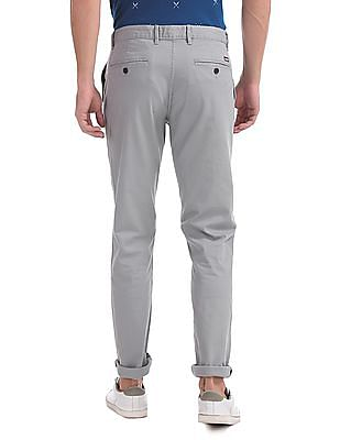 Arrow Sports Regular Fit Pleated Front Trousers