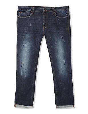 Ed Hardy Super Slim Fit Stone Wash Jeans