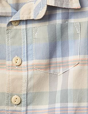 GAP Baby Plaid Madras Shirt