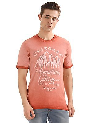 Cherokee Washed Pique T-Shirt
