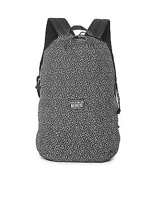 Flying Machine Contrast Printed Backpack
