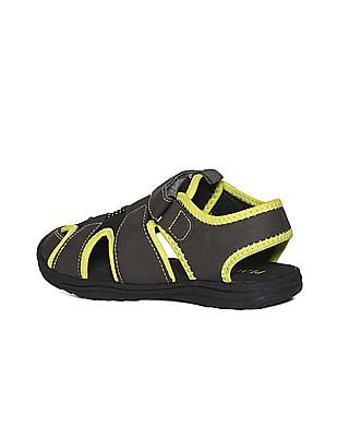 The Children's Place Boys Grey Grizzly Sandals