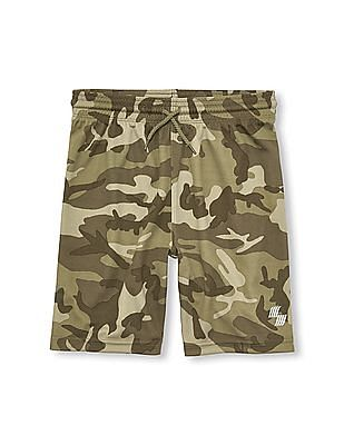 The Children's Place Boys Place Sport Printed Mesh Shorts