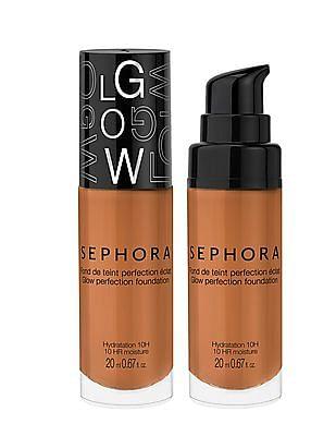 Sephora Collection Glow Perfection Foundation - 10Hr Moisture - Milk Chocolate