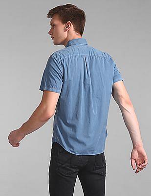 GAP Garment-Dye Short Sleeve Shirt
