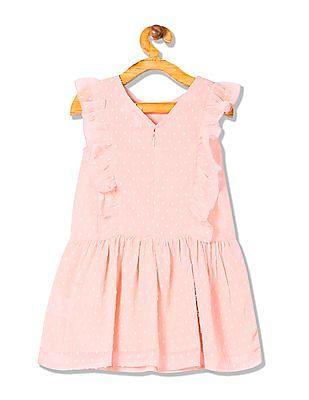 e34cc99f Buy Girls UGDR5545 Dk. Pink Girls Dress online at NNNOW.com