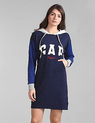 GAP Hooded T-Shirt Dress