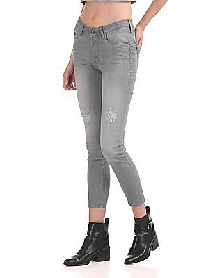 Flying Machine Women Twiggy Skinny Fit Push Up Jeans