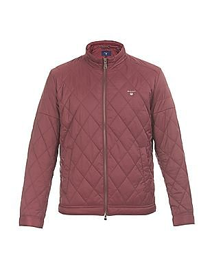 Gant Stand Collar Quilted Windcheater