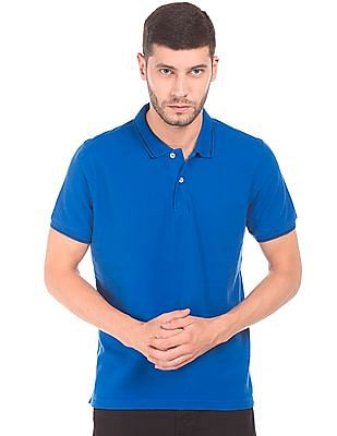 Ruggers Regular Fit Pique Polo Shirt