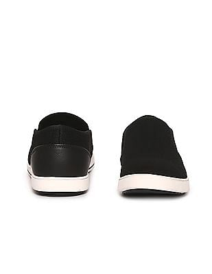 Flying Machine Textured Slip On Shoes