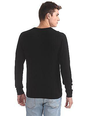 Izod Solid Long Sleeve Sweater