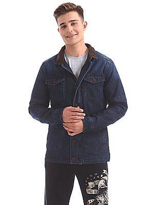 U.S. Polo Assn. Denim Co. Dark Wash Denim Jacket