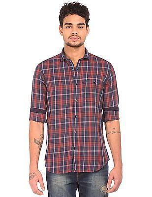 Ed Hardy Long Sleeve Check Shirt