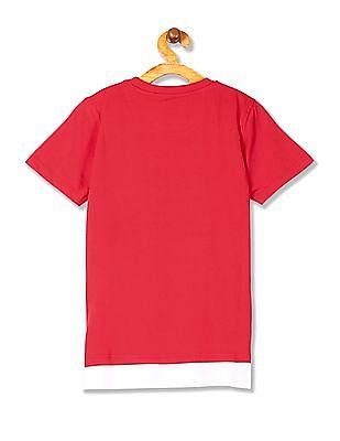 Cherokee Boys Printed Round Neck T-Shirt