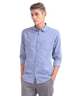 Roots by Ruggers Slim Fit Chambray Shirt