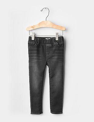 GAP Baby Black 1969 Super Soft Pull-On Legging Jeans