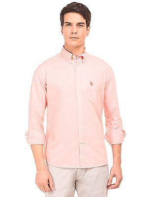 U.S. Polo Assn. Regular Fit Button Down Shirt